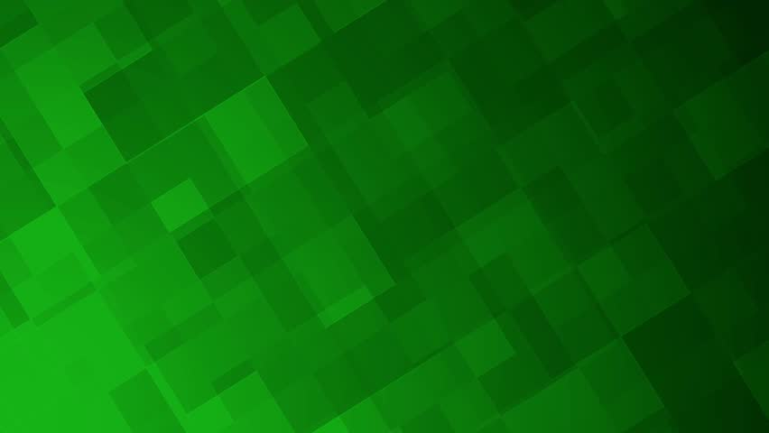 Green geometric squares of various sizes move across the screen, motion background animation. | Shutterstock HD Video #10011269