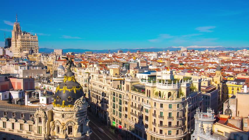 Resultado de imagen para Madrid panorama