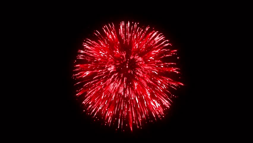 Super Firework Red, Holliday, Celebration, New Year, The 4th of July, Christmas, Festival | Shutterstock HD Video #1005606943