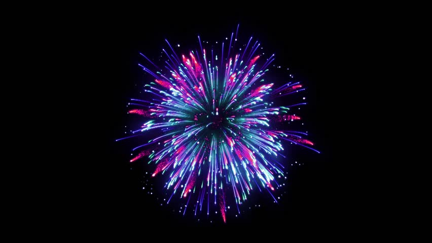 Super Firework Colorful, Holliday, Celebration, New Year, The 4th of July, Christmas, Festival | Shutterstock HD Video #1005607393
