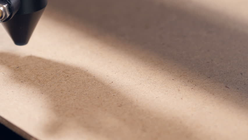 Timelapse. Laser engraving machining working. | Shutterstock HD Video #1006687483