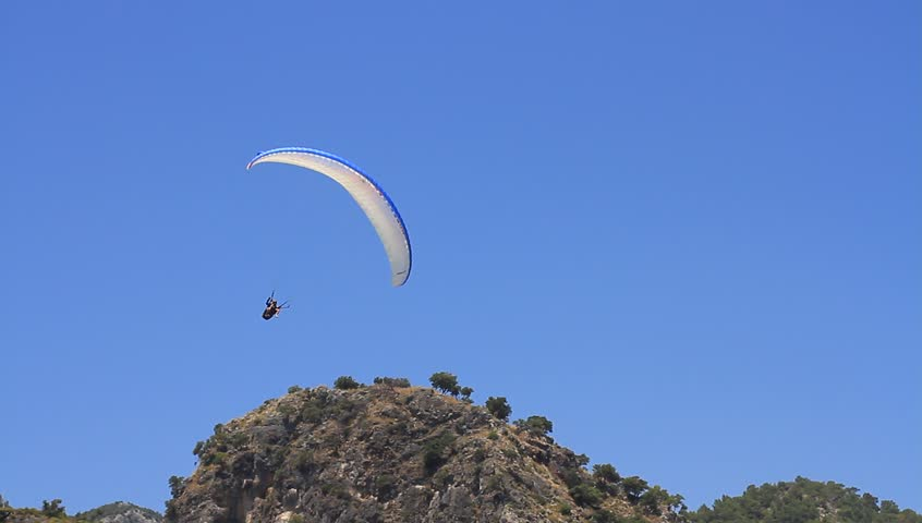 Paraglider Pilot Maneuvering the Parachute Stock Footage Video (100%  Royalty-free) 1006775293   Shutterstock
