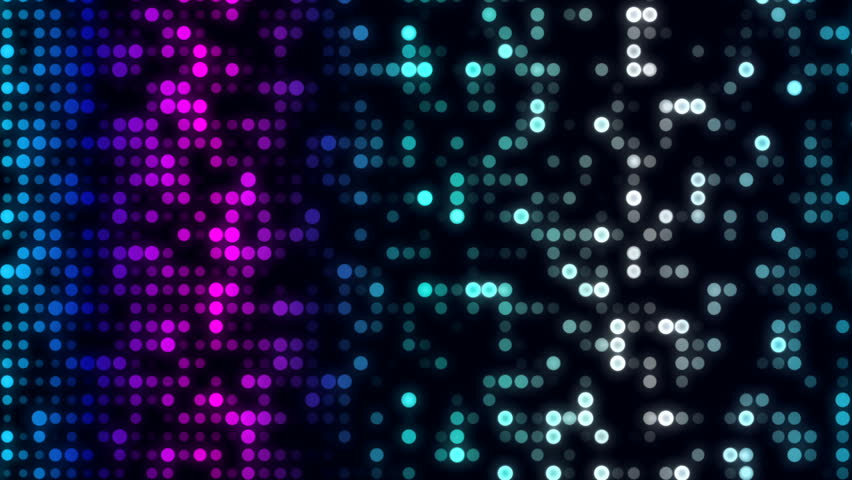 Glowing Wall of Colorful Dots Background  | Shutterstock HD Video #1006824613
