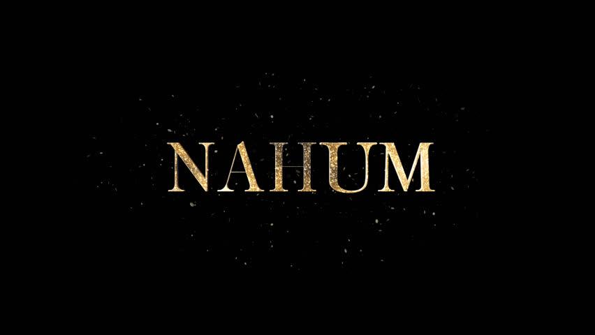 Header of Nahum