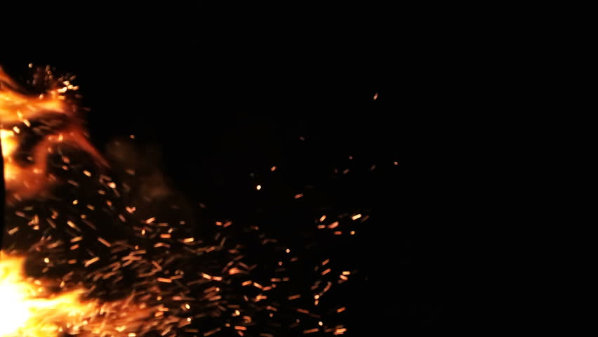 Realistic Bonfire Fire Sparks in Stock Footage Video (100% Royalty-free)  1006942123   Shutterstock