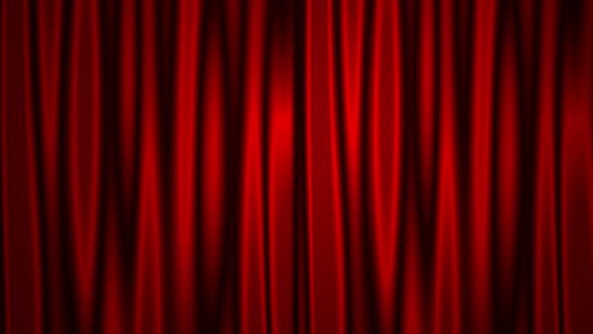 Hearts motion with opening red curtain animation background.  | Shutterstock HD Video #1006962913