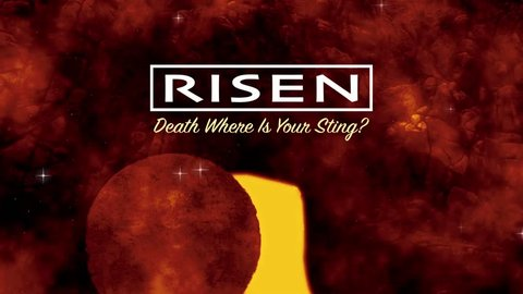 Easter Resurrection Text Motion Background