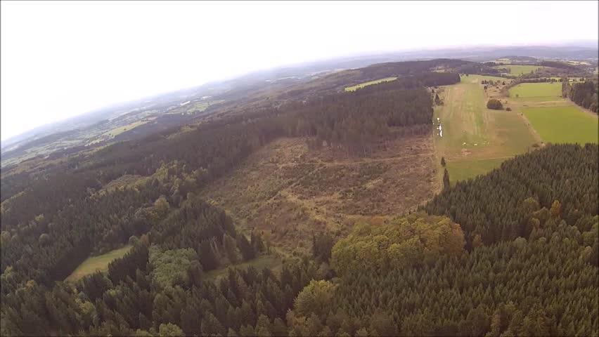 Sailplane flight with GoPro