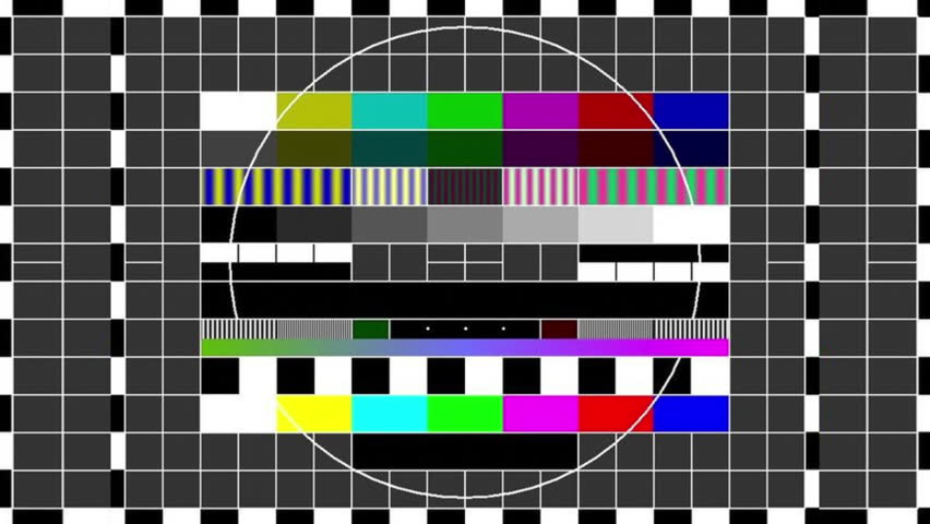 Television Test Patterns and Colour Stock Footage Video (100% Royalty-free)  1007300173 | Shutterstock