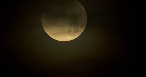 January Blue Moon Partial Eclipse
