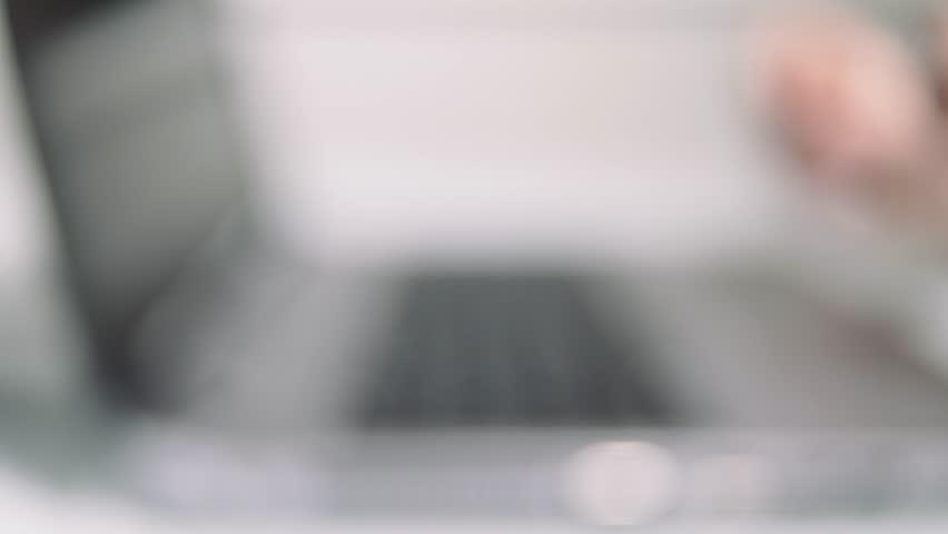 Computer defocused   Shutterstock HD Video #1007366473