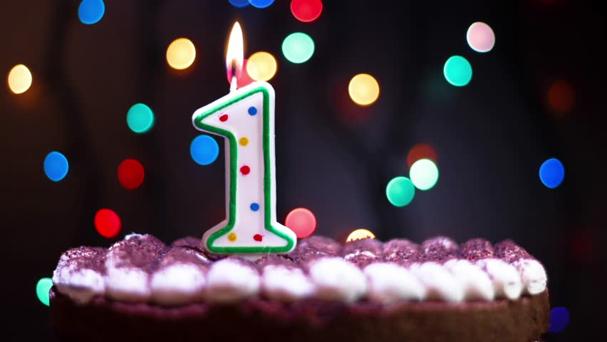 Birthday greetings colorful birthday candles stock footage video 4k0006birthday greetings colorful birthday candles number twenty five growing up stop motion m4hsunfo