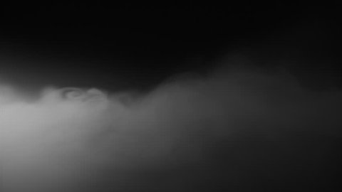 Low Angle Dry Ice Fog Hugging the ground as it flows 60fps slow motion