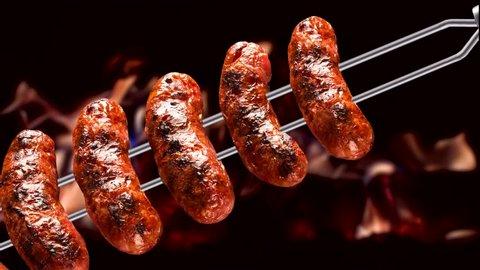 Toscana sausage, traditional Brazilian barbecue.