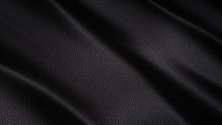 Black wavy fabric motion background cloth | Shutterstock HD Video #1007873023