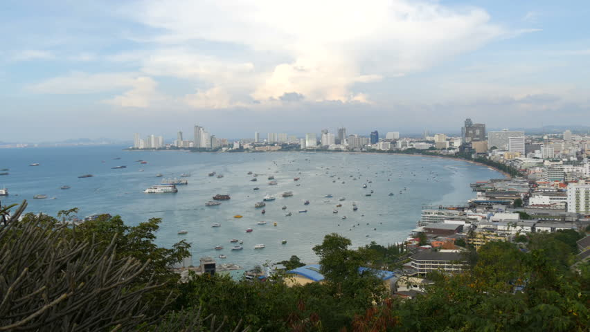Pattaya thailand february 7 2018 view of the gulf of the pattaya thailand february 7 2018 view of the gulf of the south publicscrutiny Images
