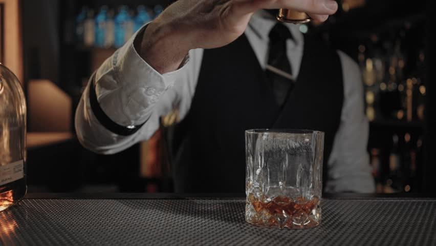 Header of liquor