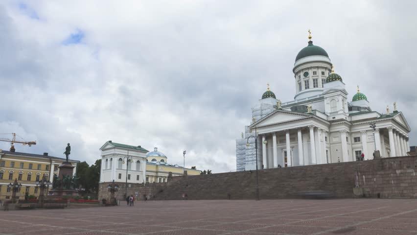 Helsinki Cathedral timelapse