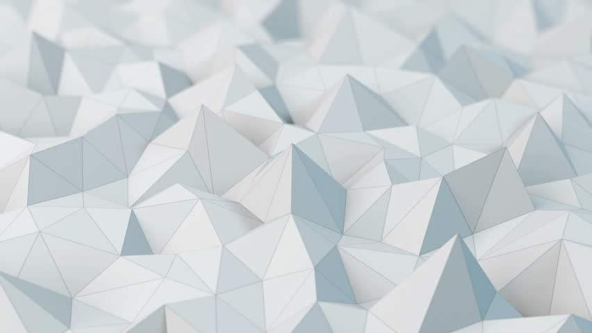 White low poly abstract background. Seamlessly loopable. | Shutterstock HD Video #10084364