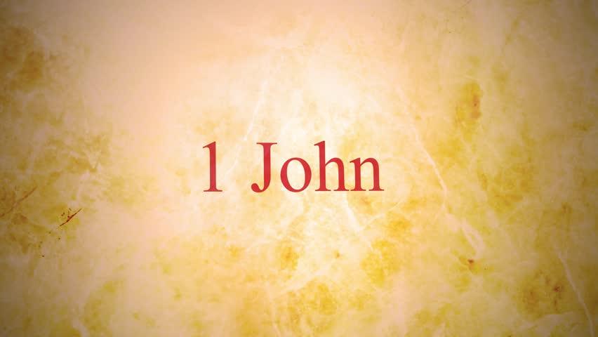 Header of 1 John