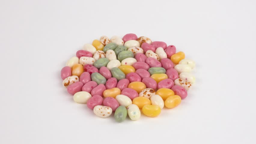 Jelly beans rotating.   | Shutterstock HD Video #1008857543