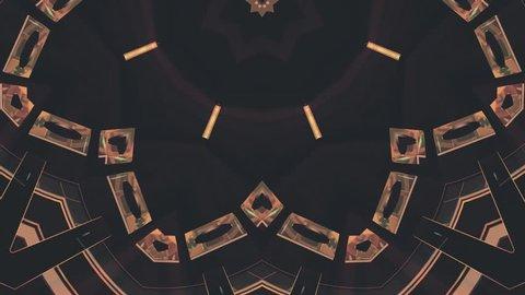 ornamental kaleidoscope ethnic tribal psychedelic pattern animation background loop New quality holiday native universal motion dynamic cool nice joyful music video