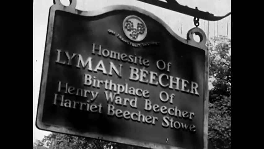 Header of Henry Ward Beecher