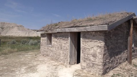History Toadstool State Park Summer Pioneer Homestead Homesteading Sod House Hut Home