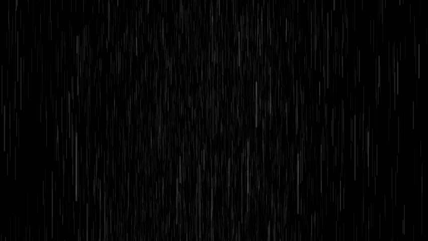 4k Rain Drops Falling Alpha Computer generated rain looped animation. heavy rain version. You can use any channel as alpha, or use soft light/overlay blending mode for adding to your composition