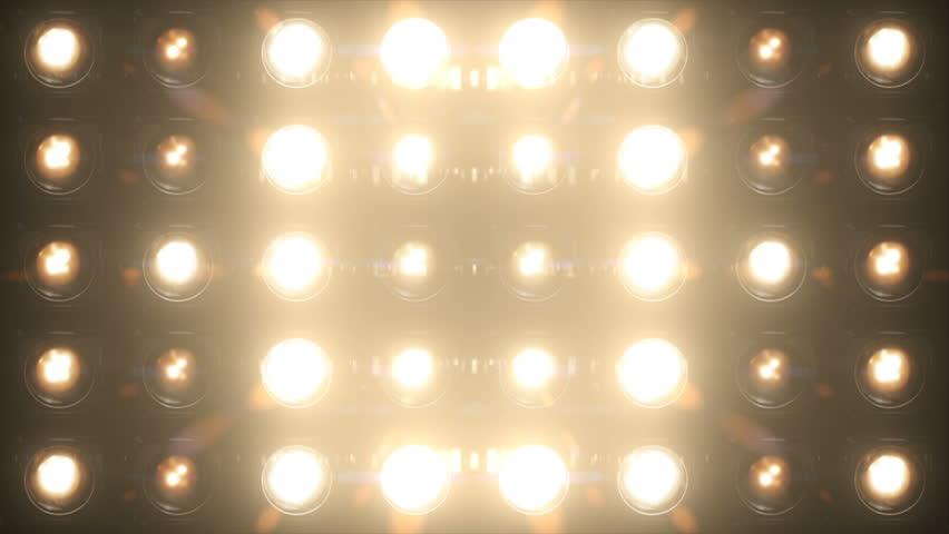 Floodlight Lights Flashing Wall VJ Stage Blinder Blinking Lights Club Dance Disco Lights Matrix Beam Lights Bulb Halogen Headlamp Lamp Nightclub Party Pub Loop   Shutterstock HD Video #1009774073