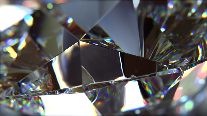 Close-up of slow rotate diamond. Loopable, beautiful background (4K,ultra high definition 2160p) | Shutterstock HD Video #1009776683