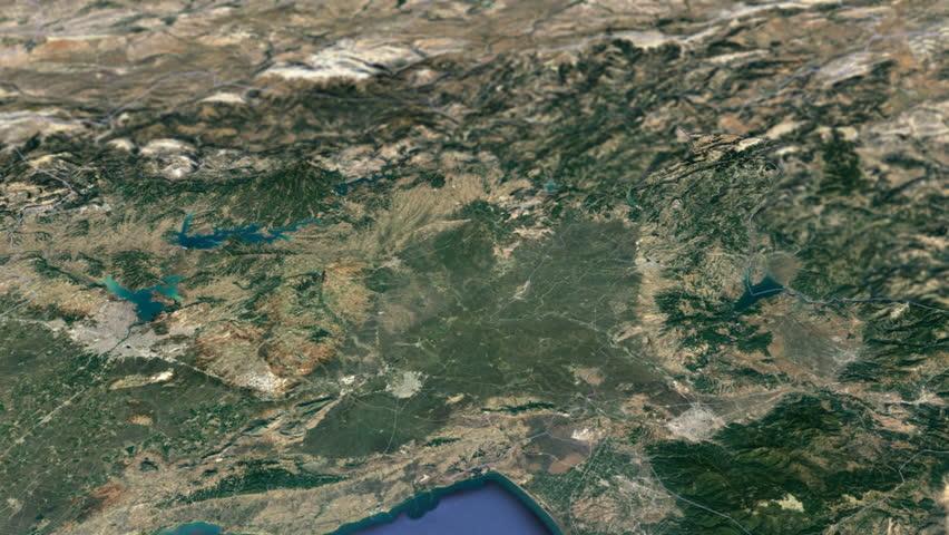 Yozgat Province Animation Map Provinces Of Turkey Stock Footage