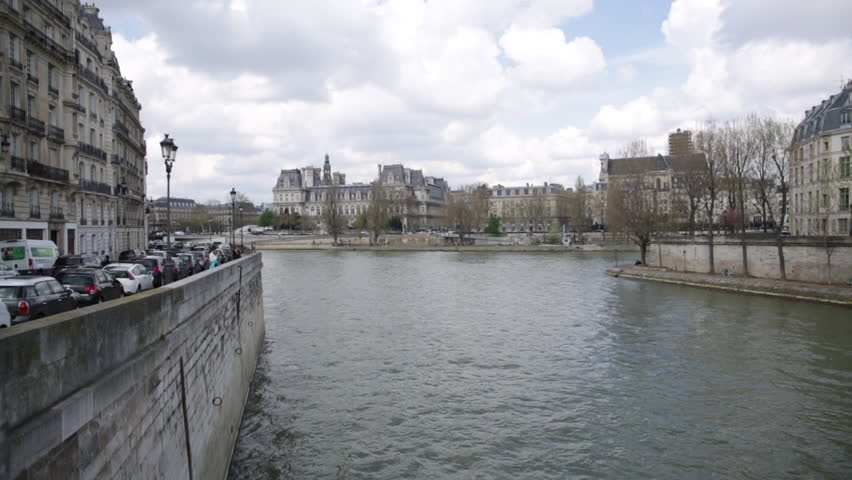 Seine River, Paris, France | Shutterstock HD Video #1010068283
