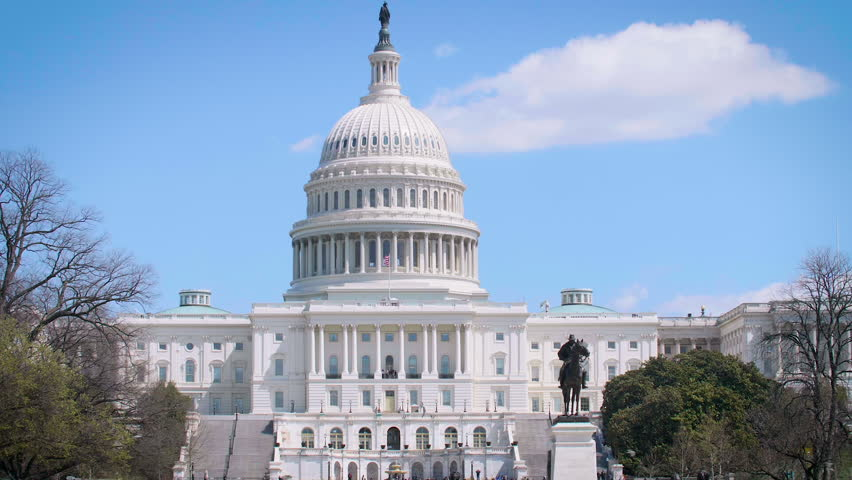 US Capitol Building, Washington D.C. | Shutterstock HD Video #1010073473