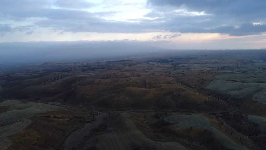 Landscape of Aso area in Japan   Shutterstock HD Video #1010285483