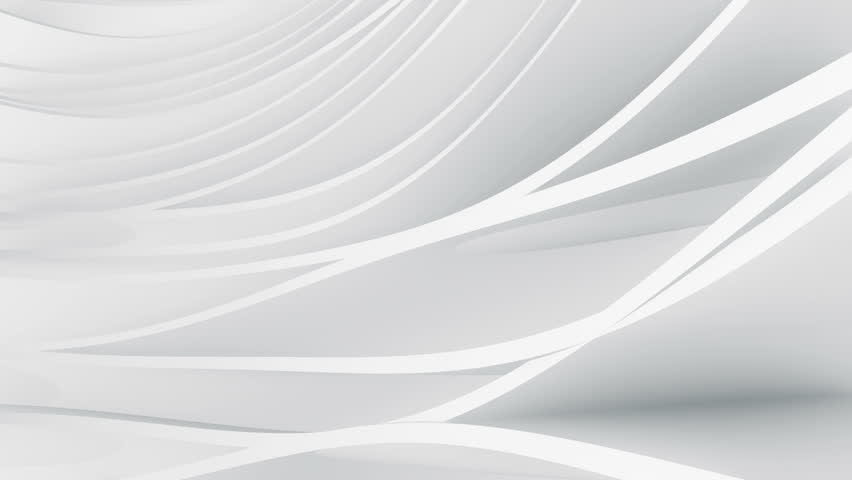 Abstract background with waving animation stripes and planes. Soft shadows and reflection. Animation of seamless loop. | Shutterstock HD Video #1010384993