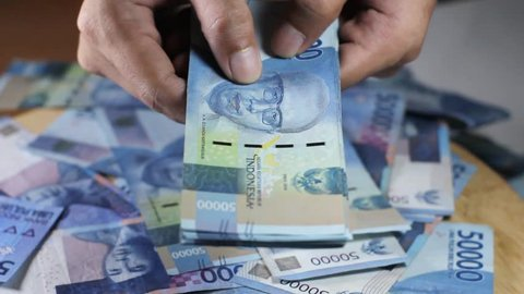 Money fifty thousand rupiah video