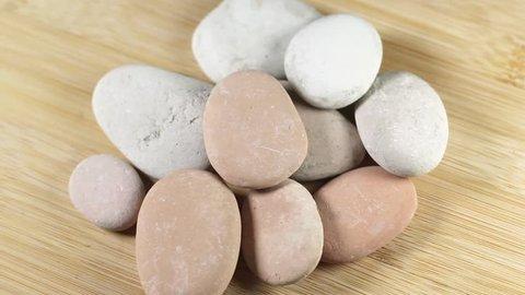 White natural stone video