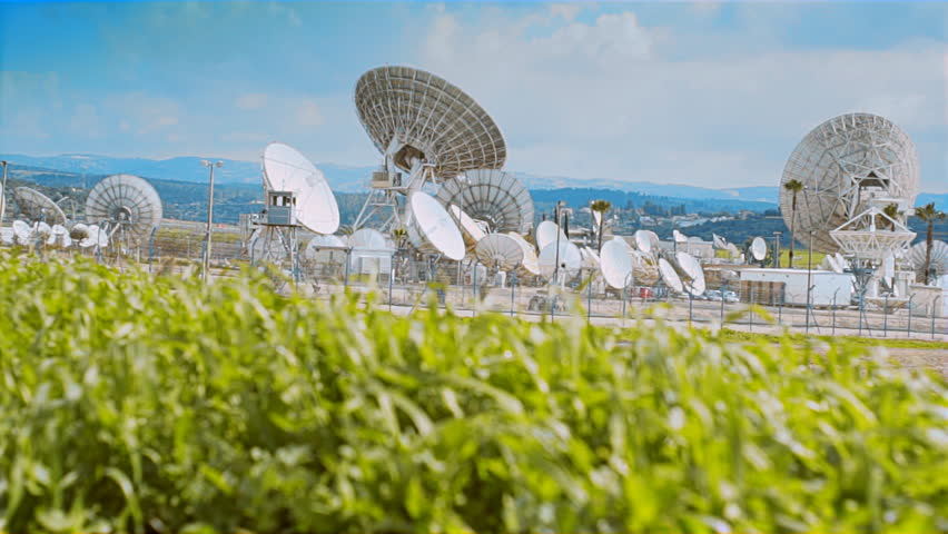 Satelite Dishes Telescope  | Shutterstock HD Video #1010572823