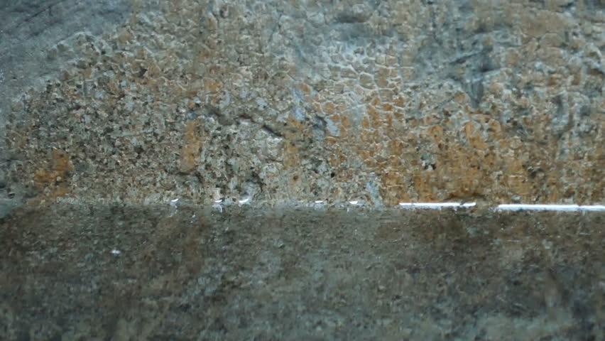 Shocking water and grunge walls | Shutterstock HD Video #1010672663