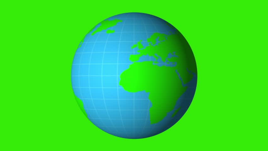 3d Earth World Map 360 Stock Footage Video 100 Royalty Free