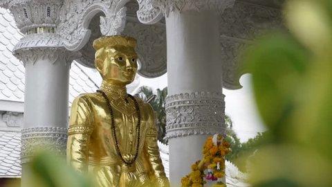 Wat Ming Mueang ,Nan City Pillar Shrine ,Thailand