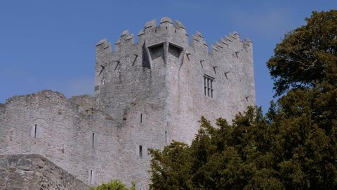 Ross Castle at Killarney National Park in Ireland - a famous landmark