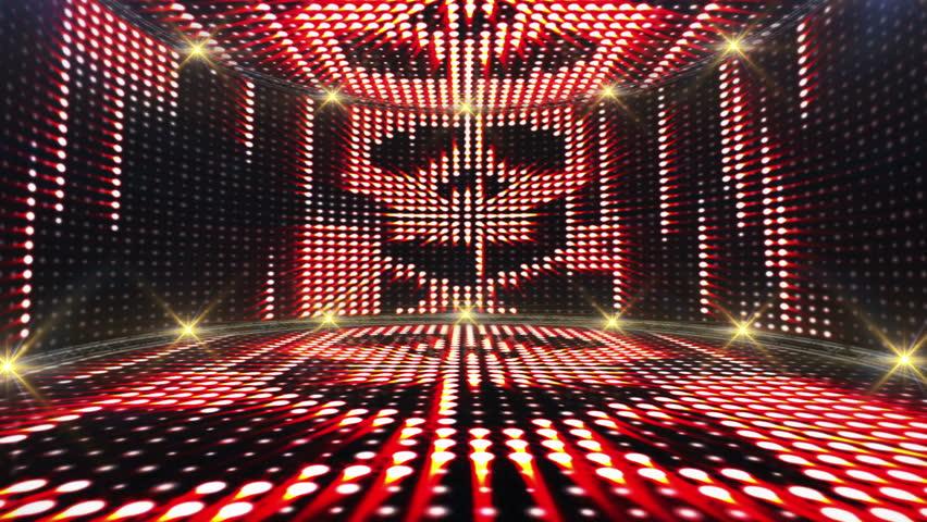 Abstract Crazy Lights Bulb Animation 4f2438a9b