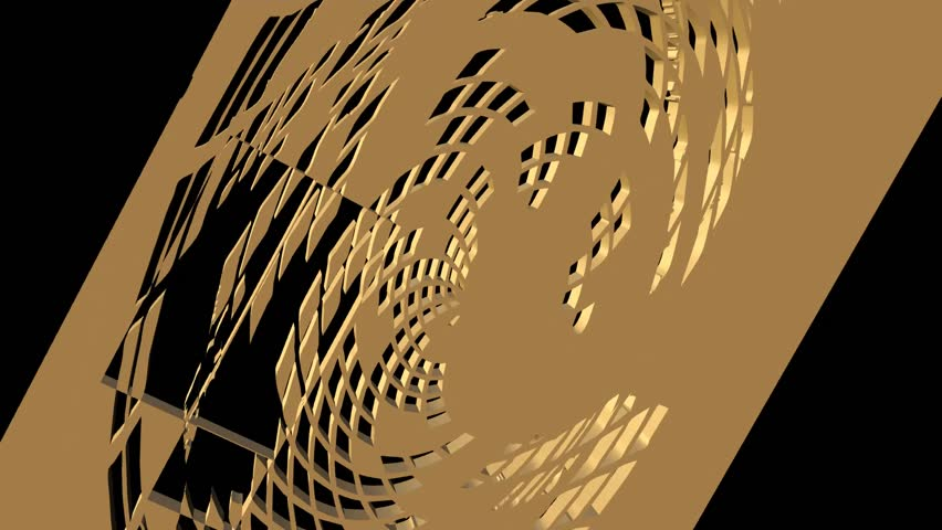 3d abstract grid object turning, zooming and changing into a monochrome background   Shutterstock HD Video #1011294803