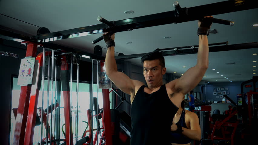 Stronger Muscular Man Has Performs Stock Footage Video (100% Royalty-free)  1011306923 | Shutterstock