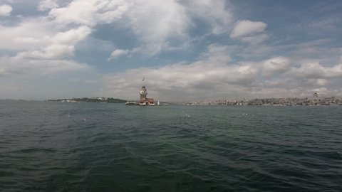 Maiden's Tower (Kiz Kulesi) Video Istanbul, Turkey