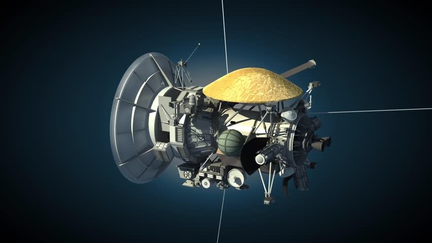 serie nasas cassini spacecraft - 852×480
