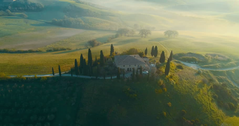Beautiful landscape in Tuscany, Italy. | Shutterstock HD Video #1011709313