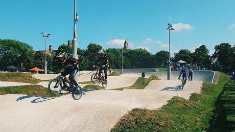BMX Race 4K